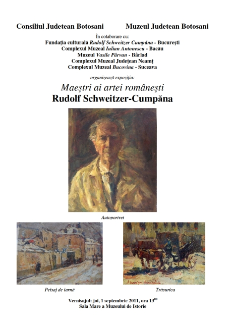 Expozitie Rudolf Schweitzer-Cumpana