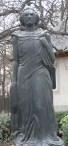 Statuia-lui-Mihai-Eminescu-Biserica-Uspenia- CAgata