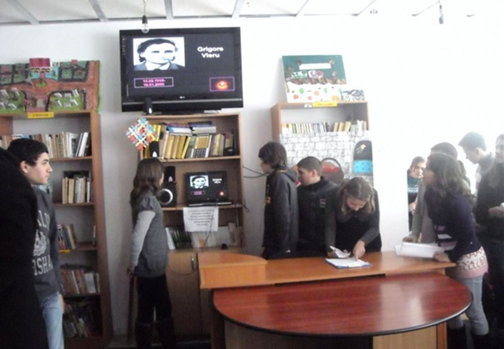 Omagiu poetului Grigore Vieru, Gr Sc ,,Dr Mihai Ciuca,,Saveni [1280x768]