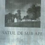 """,,SATUL  DE  SUB  APE"""",  DE MIHAI  MAXIM"""
