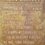 COMEMORAREA MORŢII LUI M. EMINESCU