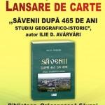 """,,SĂVENII DUPĂ 465 DE ANI. Studiu geografico-istoric"""""""