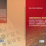 """CONSIDERAŢII METODOLOGICE PRIVIND TRANSMITEREA - ASIMILAREA NOŢIUNILOR DE MIJLOACE DE ÎMBOGĂŢIRE INTERNĂ A VOCABULARULUI ÎN ÎNVĂŢĂMÂNTUL GIMNAZIAL"""""""