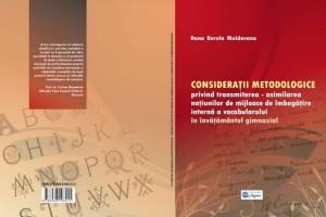 Consideratii metodologice mijloace imbogatire vocabular, Dana Moldovanu, coperta burac [800x600]