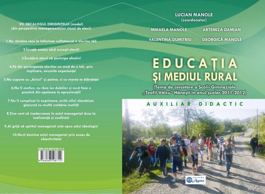 Coperta_Educatia si mediul rural
