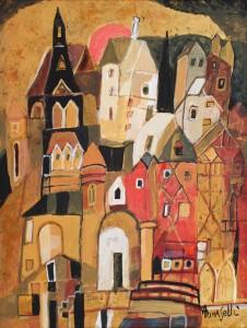 Tomaselli,Angela-castel pe valea loirei, u.p., 45x35
