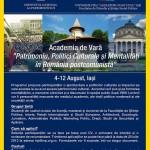 La Iași, Prima Academie de Vară a Patrimoniului