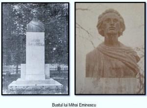 Bustul lui Mihai Eminescu, by Novac