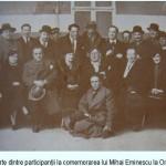 Mihai Eminescu comemorat la Oradea (28 februarie 1937)