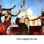 Ion Bârlădeanu de la Zăpodeni-Vaslui la Paris, în casă la Angelina Jolie, la sfat despre arta colajului