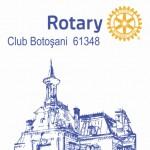 """Bursa școlară  """"Prof. dr. Constantin Manolache"""",  inițiată de ,,ROTARY CLUB BOTOSANI"""""""