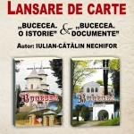Centrul Cultural din Bucecea - lansare de carte: BUCECEA O ISTORIE (2 vol.), autor - Iulian NECHIFOR