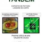 """,,TANDEM"""" : Eugenia BOTEANU și Victor FOCA, în Expoziție de grafică și uleiuri pe pânză"""