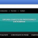 În sprijinul jurnalismului. Uniunea Ziariştilor Profesionişti din România (U.Z.P.)