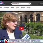 In știre, la somaxtv.com: Dicționarul scriitorilor botoșăneni