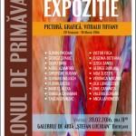 Artiştii plastici de seamă ai Moldovei, în ,,Salonul de primăvară
