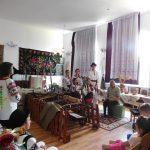 Vorniceni, 1 iunie. Elevi de la Şc. 7 Botoşani în vizită la  ,,Virtutea Sătească a Vornicenilor