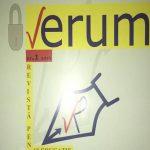 """""""VERUM"""", O NOUĂ REVISTĂ DE CULTURĂ  ŞI  EDUCŢIE"""