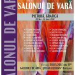 La Botoșani: SALONUL DE VARĂ, prin grija Uniunii Artiştilor Plastici, preşedinte Florin PRODAN