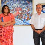 """Vernizaj la Botoșani. Salonului Naţional de Artă Naivă """"Gheorghe Sturza"""", Ediţia aV-a"""