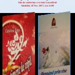 Lansare cărților unui  debut literar, Cătălina Bâgu - elevă Școala Gimnazială Vorniceni
