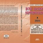 ACTA  MOLDAVIAE  SEPTENTRIONALIS, X, 2011