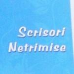 """O nouă carte: ,,Scrisori Netrimise"""", Ed. Quadrat"""