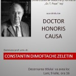 C.D. ZELETIN - DOCTOR HONORIS CAUSA