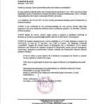 Comunicat de presă:invitație candidaților pentru Parlamentul și Senatul României (Alegerile Parlamentare, 2012)