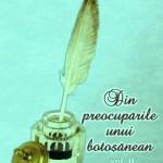 """Clubul cărților Agata: ,,DIN PREOCUPĂRILE UNUI BOTOŞĂNEAN"""""""