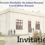 Vernisajul Expoziției Filatelice Trilaterale Botoșani-Bistrița-Sibiu
