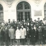 Album cultural-istoric botoşănean: Ionel Bejenaru cu un grup de la Școala interjudeteana de partid, Iasi 1979
