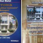"""O carte de succes: ISTORIA LICEULUI """"MIHAI  EMINESCU"""" BOTOŞANI"""