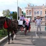 Cu trăsura prin Centrul Istoric al Botoșanilor