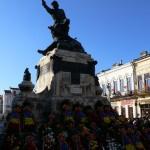 Ziua Națională a României sărbătorită de botoșăneni în Centrul Istoric
