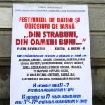 Festival de datini şi obiceiuri de iarnă la Botoşani