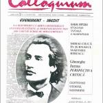 Reviste culturale botoșănene. COLLOQUIUM