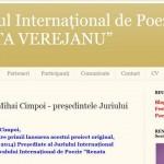 """Festivalul Internaţional de Poezie ,,Renata Verejanu"""""""