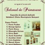 """Zilele Botoșanilor. Expoziție de pictură: ,,Salonul de Primăvară"""" la minigaleria Agata"""
