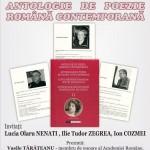 Ancoraje ale identității culturale românești. Antologia de poezie Română Contemporană