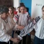 O veritabilă lecţie de artă populară românească. La Casa cu amintiri