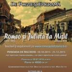 """Au început înscrierile la Festivalul Internațional de Poezie și Epigramă """"Romeo și Julieta la Mizil""""!"""