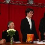 ZILELE LICEULUI EMIL BOTTA, MUN. ADJUD - LANSARE DE CARTE GEORGE NICOLAE STROIA – ILUZII/ ILLUSIONS (Armonii Culturale, Adjud, 2015)