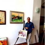 Recolorarea Orașului Vechi în atelierul de pictură, George SPAIUC, un parteneriat al fundației editurii Agata (FNDC) și maestrul culorilor