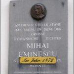 Pe urmele lui Mihai Eminescu, la Viena