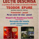Arena Cărților. Lecția deschisă cu profesorul de Limba și Literatura Română, Teodor Epure