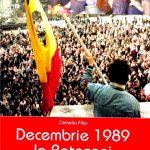 """Arena cărților. Corneliu Filip, omul de radio din două perioade istorice și recenta sa carte ,,Decembrie 1989 la Botoșani – Rememorări"""""""