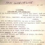 Ion Gheorghe, în plin pamflet literar...