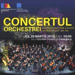 """Concert inedit al Orchestrei Universității Naționale de Arte """"George Enescu"""""""