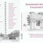 O antologie a aforismului românesc publicată în Franţa: